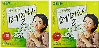 DAMTUH Korean Traditional Tartary Buckwheat Tea, 100% Pure Premium Korean Tea, 40 bags X 2 Boxes