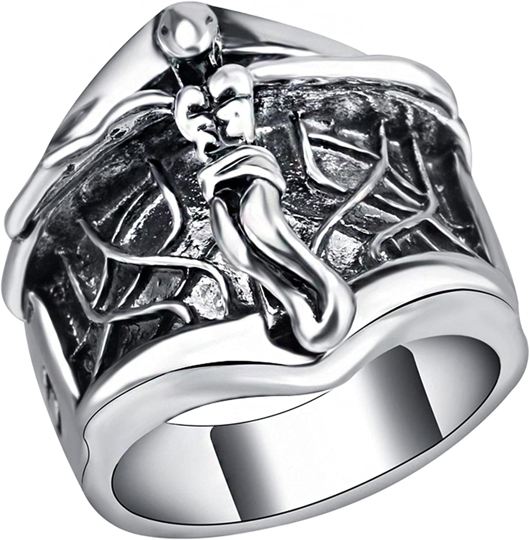 Punk Jewelry Wholesale Jesus Ring Men Silv service Tibetan Sales for sale Alloy