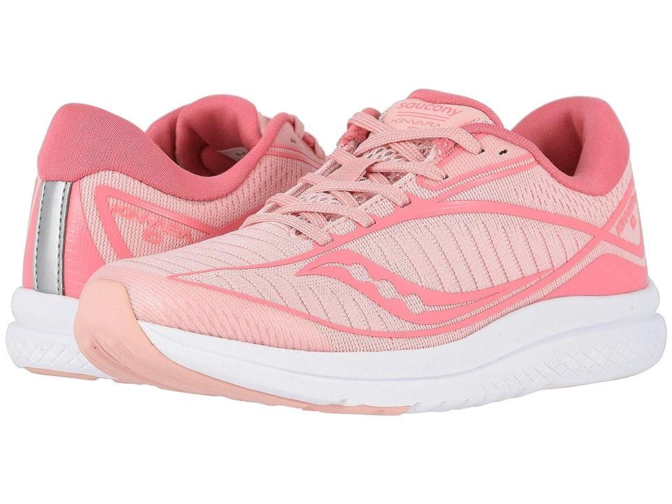 Saucony Kids Kinvara 10 (Little Kid/Big Kid) (Rose) Girls Shoes