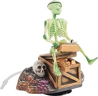 Aquarium Ornament Saim Pirate Skeletons & Gold Treasures Live Action