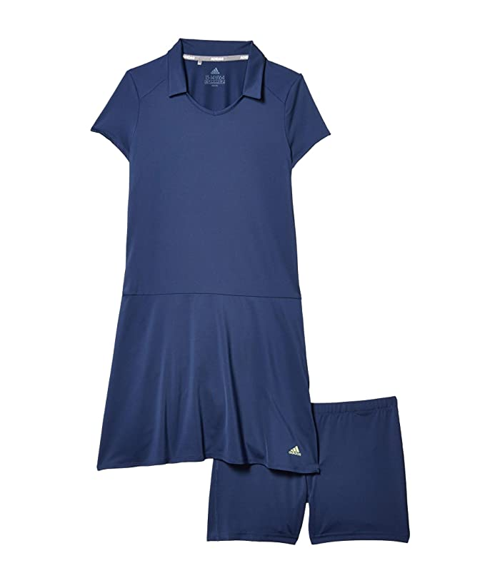 adidas Golf Kids Ruffled Dress (Little Kids/Big Kids) (Tech Indigo) Girl's Dress