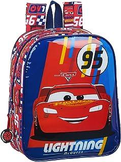 612011232 Mochila guardería niño Adaptable Carro Cars, Multicolor