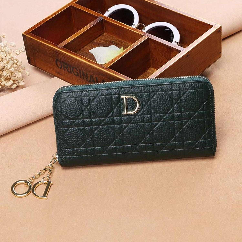 Kupplung Mode Große Kapazität Reißverschluss Brieftasche Weibliche