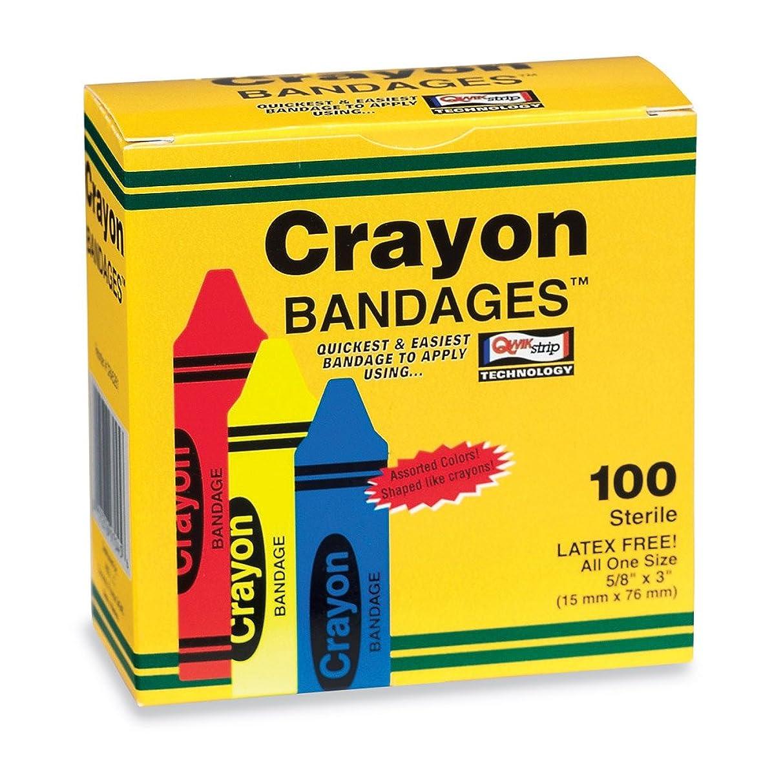 Crayon Bandages - 100 per Pack