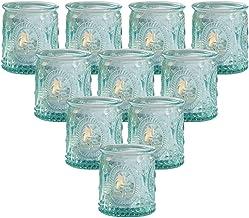 Kate Aspen Tea Light Holder, Vintage Glass Tealight Candle Holders, Perfect Wedding Favor, Bachelorette Favor or Bridal Sh...