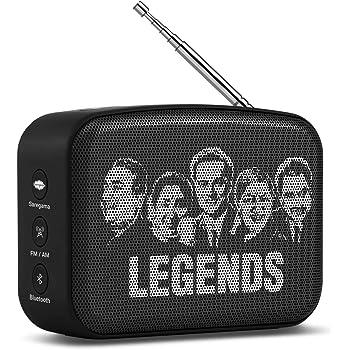 Saregama Carvaan Mini Bluetooth Speaker (Moonlight Black)