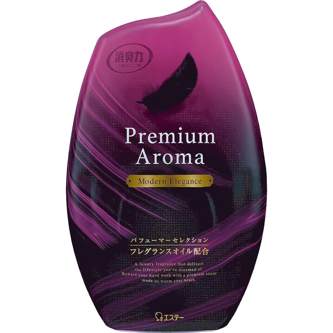 矛盾する教義おんどりお部屋の消臭力 プレミアムアロマ Premium Aroma 消臭芳香剤 部屋用 部屋 モダンエレガンスの香り 400ml