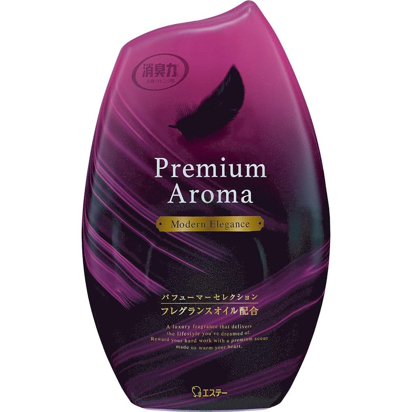 幸運なことにママ繰り返しお部屋の消臭力 プレミアムアロマ Premium Aroma 消臭芳香剤 部屋用 部屋 モダンエレガンスの香り 400ml