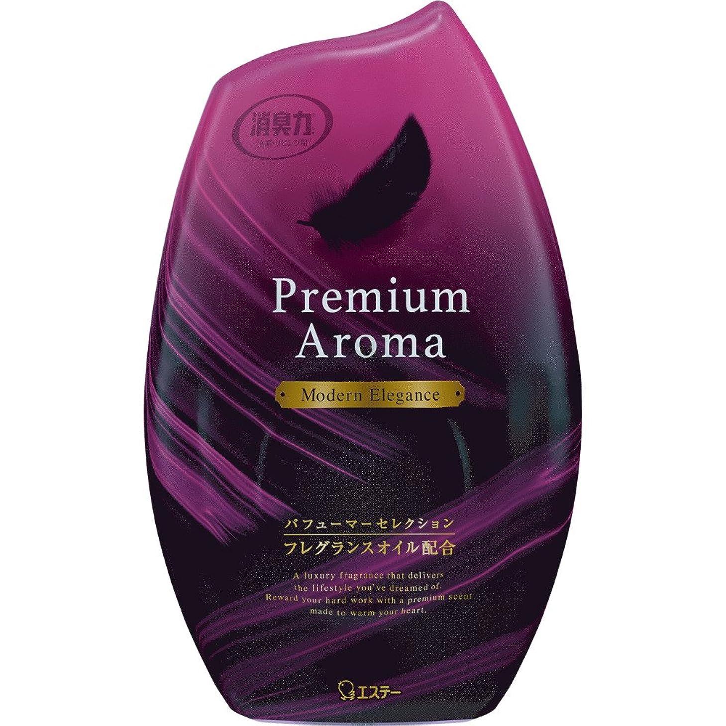 ボット慢性的クレデンシャルお部屋の消臭力 プレミアムアロマ Premium Aroma 消臭芳香剤 部屋用 部屋 モダンエレガンスの香り 400ml