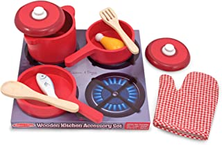 Melissa And Doug Wooden Pots And Pans