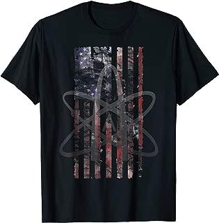 Atheist Atheism USA American Patriotic Flag T-shirt