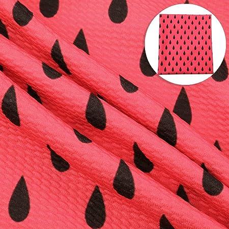 Watermelon Liverpool Fabric Bow