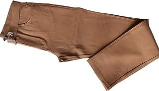 Pantalón Pitillo Mujer Punto Roma Liso | Tejido Ajustable 68% Seda 22% Poliamida 10% Elastan
