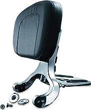 Kuryakyn 1660 Multi-Purpose Driver/Passenger Seat Backrest with Folding Luggage Rack System or Harley-Davidson and Indian ...