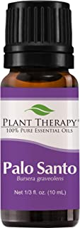 Plant Therapy Palo Santo Essential Oil 100% Pure, Undiluted, Natural Aromatherapy, Therapeutic Grade 10 mL (1/3 oz)