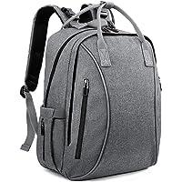 Cpallie Multi-Function Water Resistant Diaper Backpack (Grey)