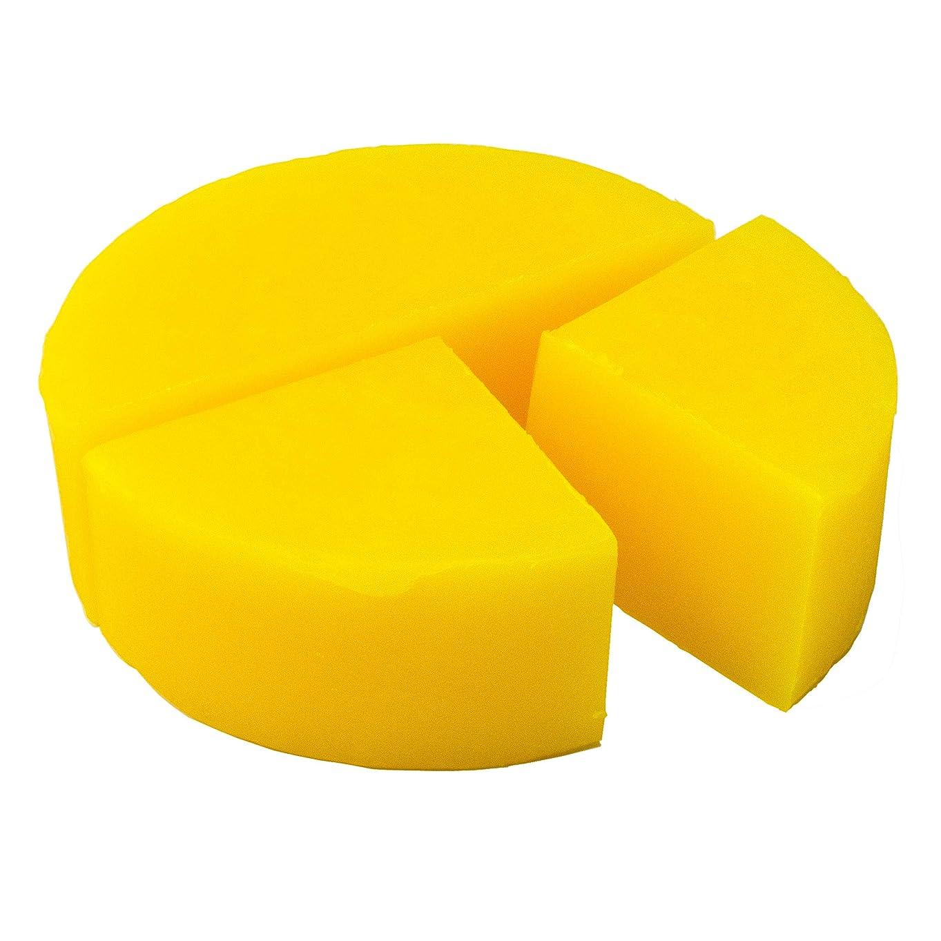 ほうき幅考古学グリセリン クリアソープ (MPソープ) 色チップ 黄 100g