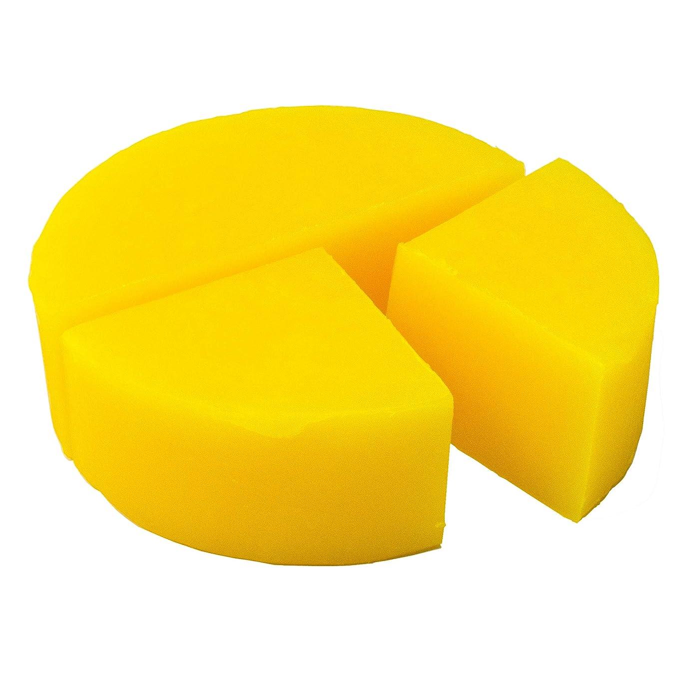 荒涼とした公爵夫人刑務所グリセリン クリアソープ 色チップ 黄 100g (MPソープ)