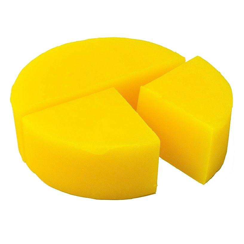致死効率的狂気グリセリン クリアソープ 色チップ 黄 100g (MPソープ)