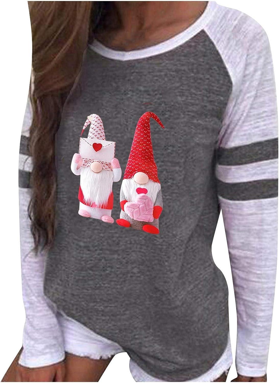 Appoi Womens Tunic Tops New Shipping Free Women's Graphic Sleeve T-Shirt Rare Cas Long