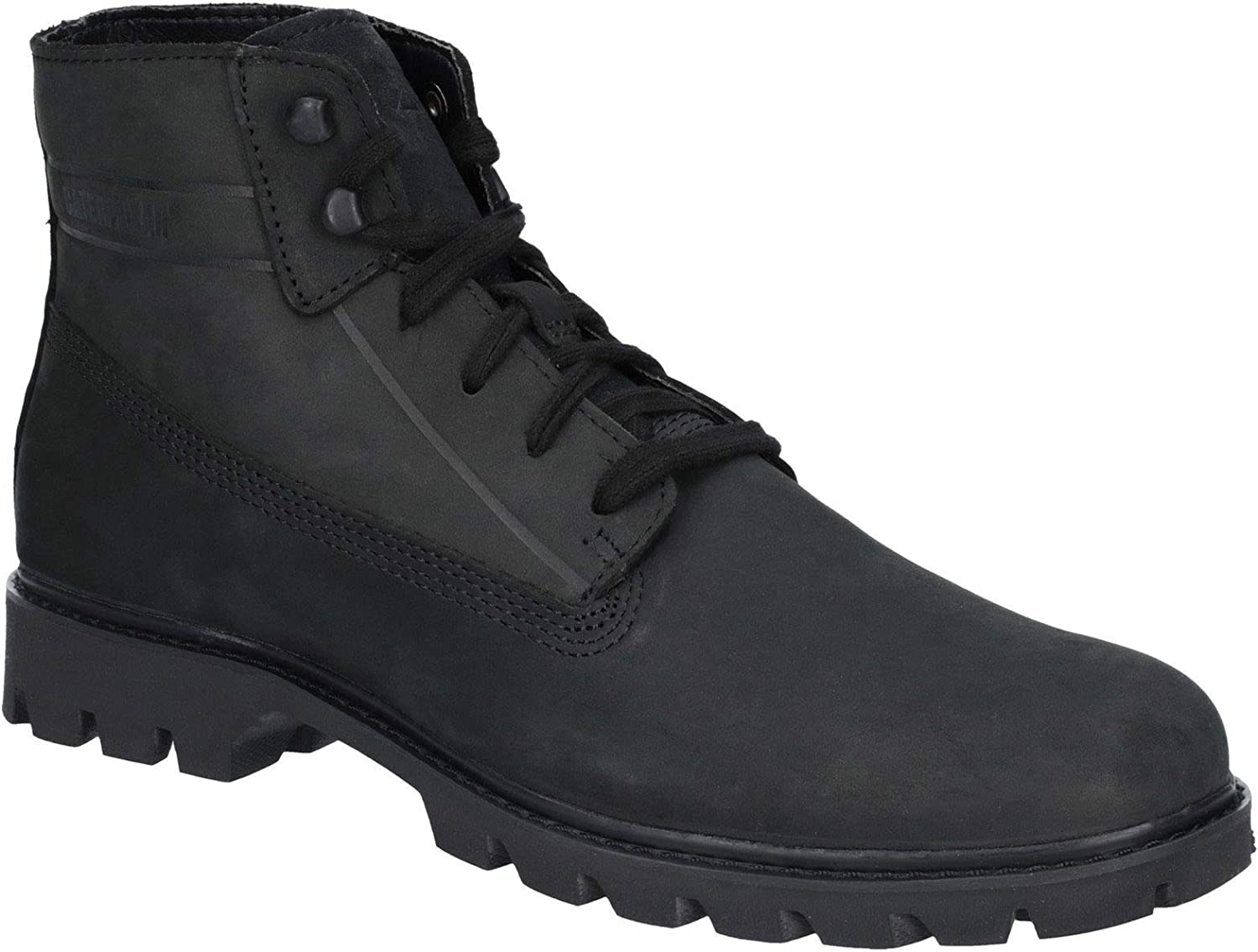 CAT Lifestyle Mens Basis Lace Up Boot Black Size UK 12 EU 46