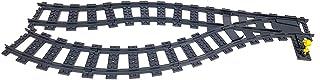 Lego Pociąg miejski kolejowy obrót toru do systemu RC 1 przełącznik i 17 zakrzywionych utworów do 60051, 60052, 60098