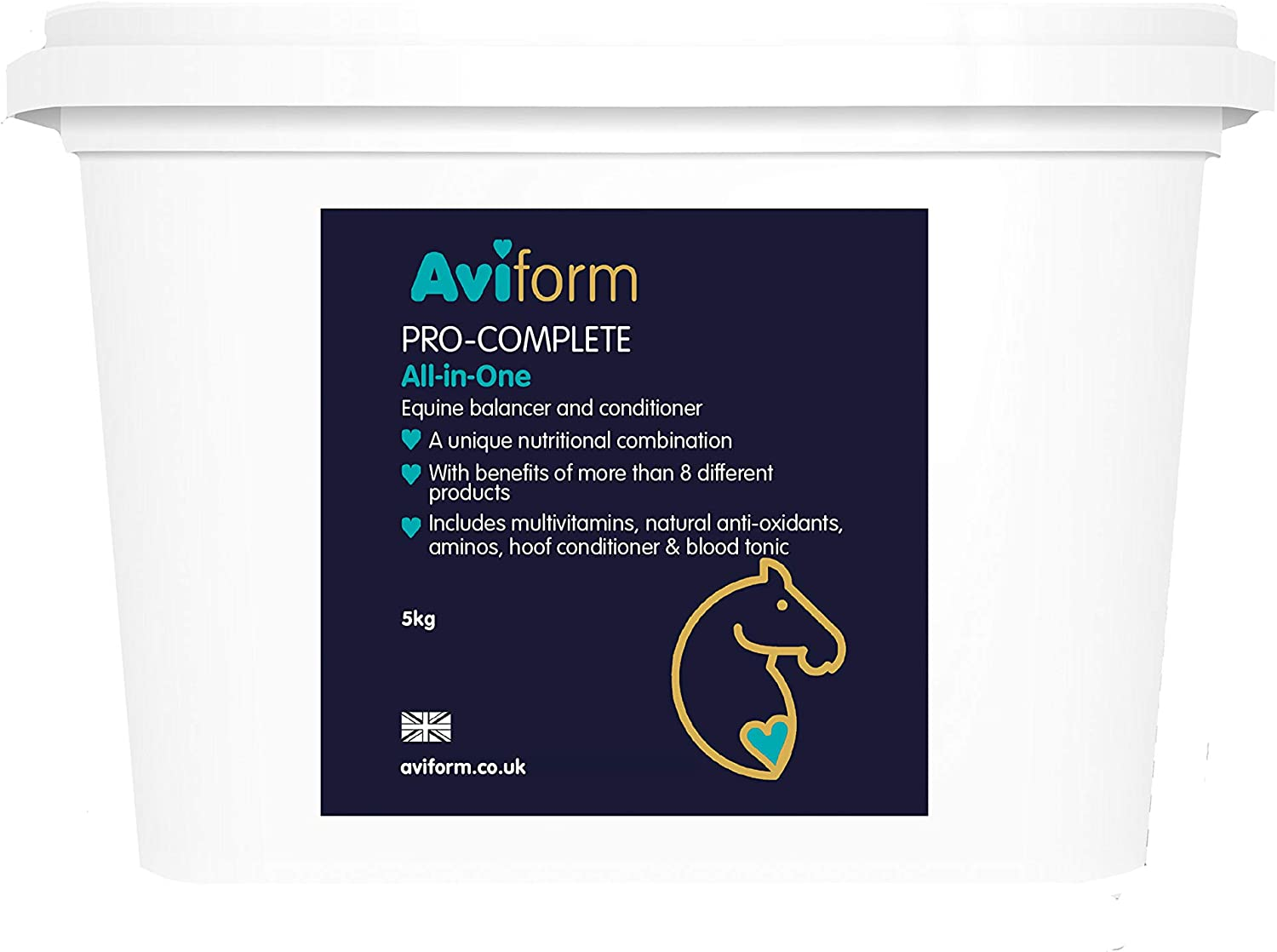Aviform PROCOMPLETE   Ultimate Equine All in One Supplement   5kg   Free Express Delivery