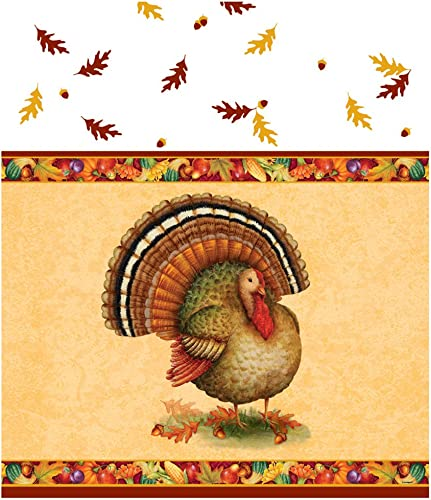 a precios asequibles Mantel de plástico con Diseño de Turquía festiva, 84 84 84 x 54 cm  Los mejores precios y los estilos más frescos.