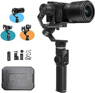 FeiyuTech G6アップデートバージョン(V2)防滴ハンドヘルドスタビライザー ジンバル Hero 8 7 6 5 4 3 Sony RX0 Yi 4K AEEアクションカメラに対応 三脚付きHero 8に適合