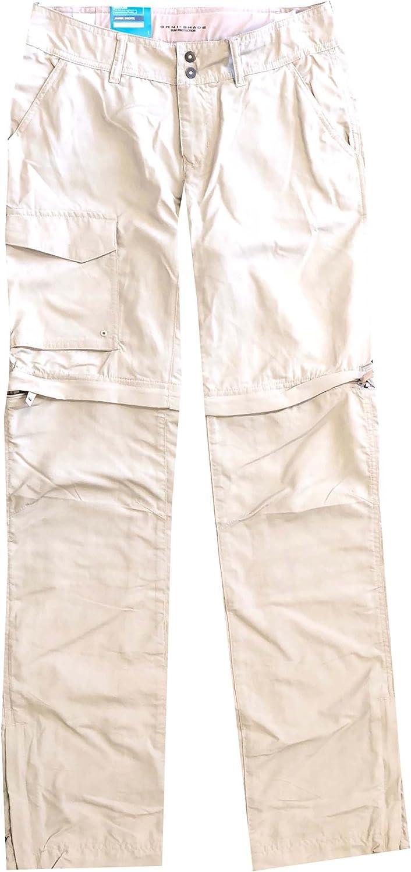 Columbia Womens PFG OmniShade Palm Peak Congreenible Pants Shorts