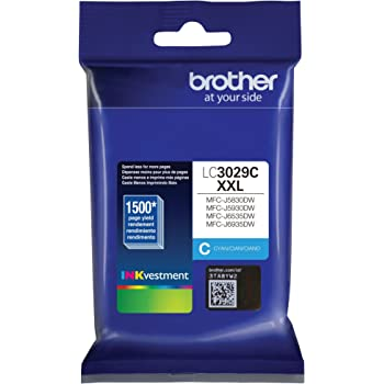 Brother LC3029C Super High Yield Cyan Ink Cartridge
