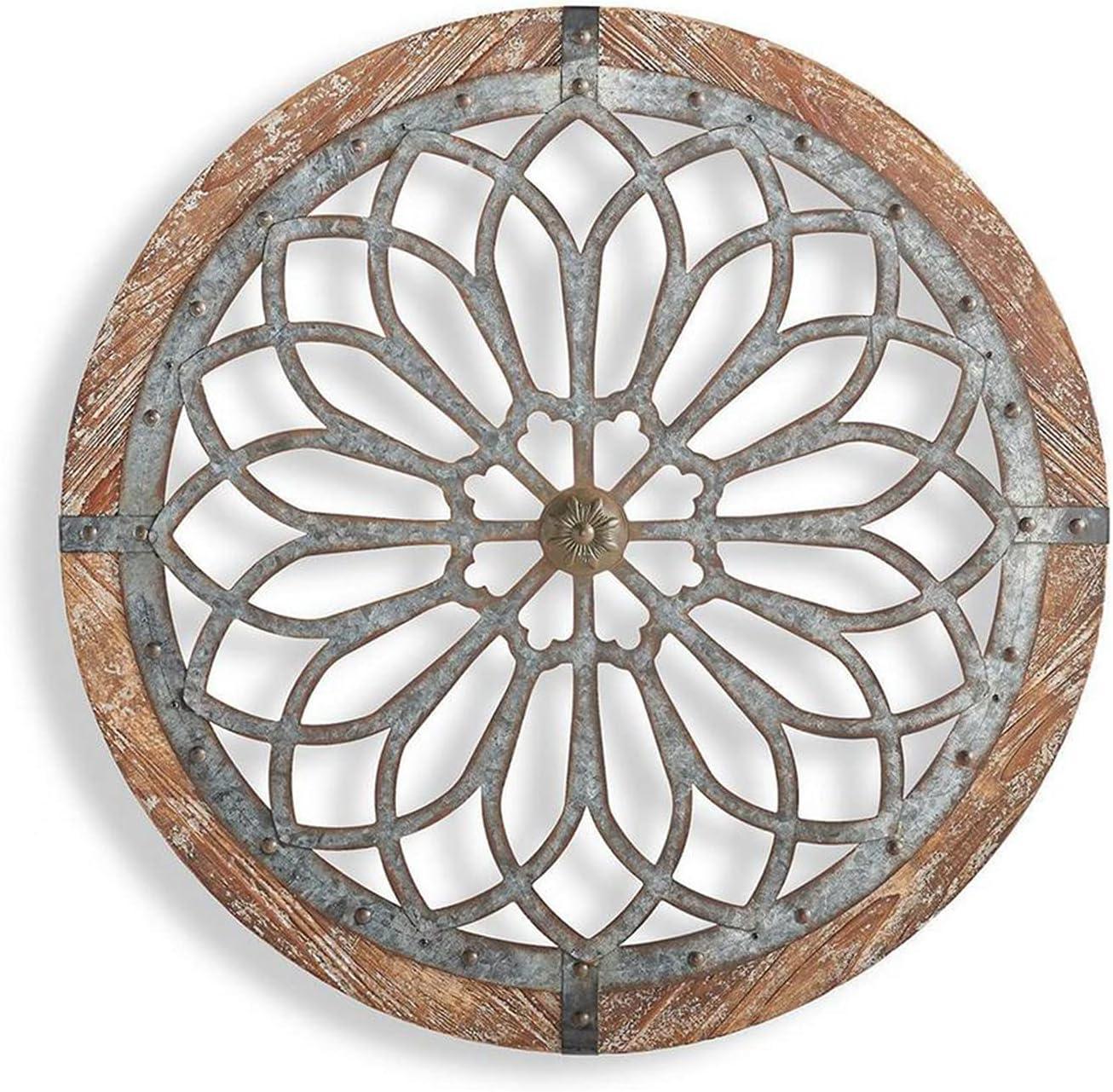 KHLRDK Heritage Round Wall Popularity Art Ornament Hanging Restaur Wooden Ranking TOP12