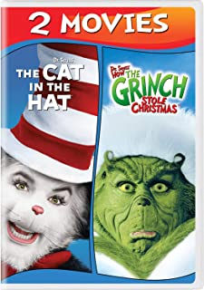 Dr. Seuss' The Cat in the Hat / Dr. Seuss' How the Grinch Stole Christmas [DVD]