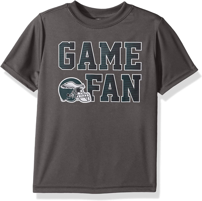 NEW Nyce Kids Football Fanatic T-Shirt /& Shorts Set Size 4T Blue /& Gray