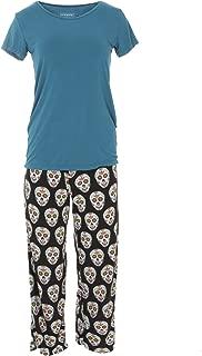 Kickee Pants Women's Loosey Goosey Tee & Pant Set