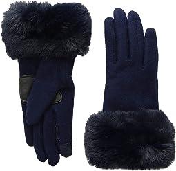 Faux Fur Cuff Gloves