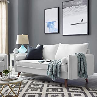 Best white fabric couch Reviews