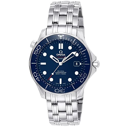 Omega Mens 212.30.41.20.03.001 Seamaster Diver 300m Co-Axial Automatic Swiss Automatic