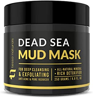Best Dead Sea Mud Mask - Enhanced with Collagen - Reduces Blackheads, Pores, Acne, Oily Skin - Visibly Healthier Face & Body Complexion - All Natural Anti-Aging Formula for Women & Men Review
