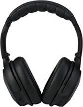XINWU 801 Active Noise Cancelling Bluetooth Headphone w/Soft Protein Earmuff, High Stereo Surround Sound, Built-in Mic, Wired Mode, 20h Long Battery Life Fodable Lightweight Over Ear Design (Black)