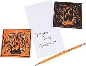 Fun Express Halloween Book of Spells Notepads for Halloween - Stationery - Notepads - Notepads - Halloween - 24 Pieces