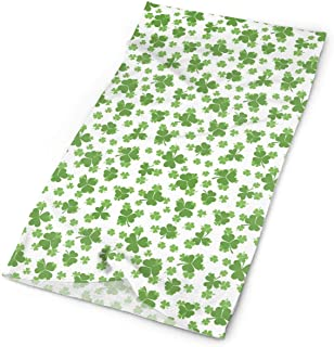 St. Patrick's Day Lucky Shamrock Outdoors & Daily Headwear,Bandana,Venda,Neck Gaiter,Balaclava,Helmet Liner for Running Riding Skiing Hiking19.7x9.85 inch/25x50cm