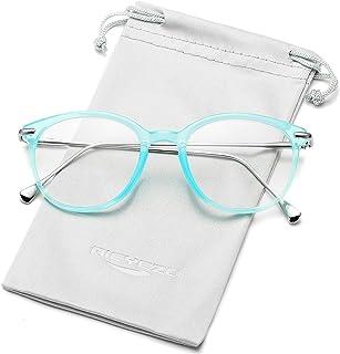 Vintage Round Glasses for Women Non-Prescription Eyeglasses Frame Clear lens Glasses Women Men