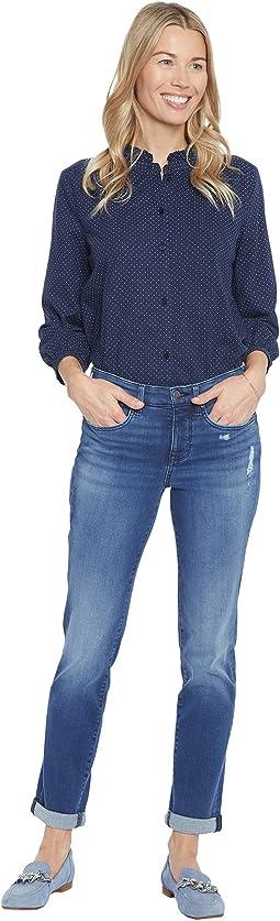 Margot Girlfriend Jeans in Heron
