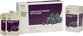 CheongKwanJang  100% Korean Red Ginseng with Aronia   Set of 3 boxes   10 Pouches per box   1500ml   Natural Energy Stamin...