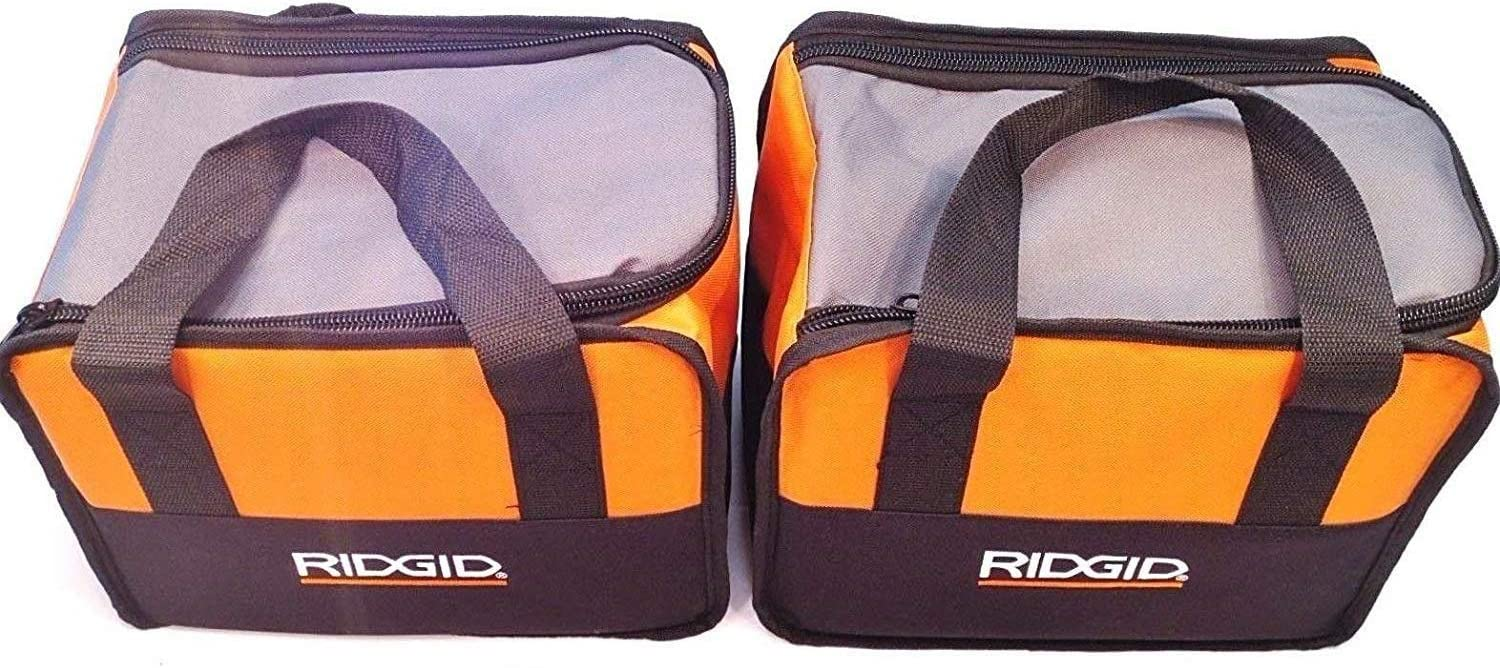 """SALENEW very popular 2 Ridgid Outlet sale feature Tool Bags Cases 11""""x8""""x5"""" Carrying F"""