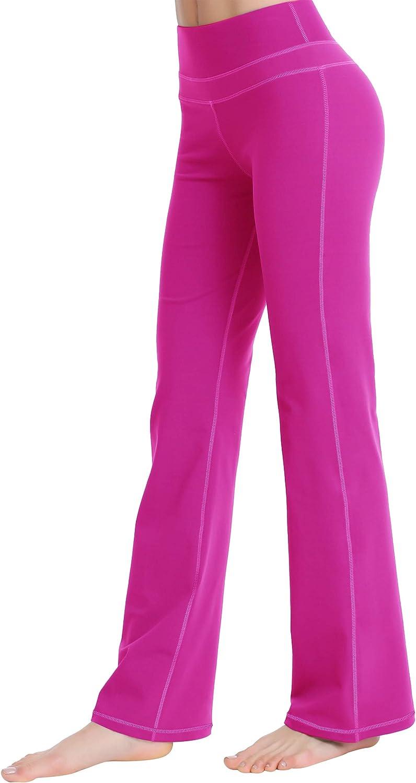 Zeronic Women's Bootcut Yoga Pants latest Waist Long Control Tummy Max 76% OFF High