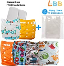 Best baby cloth diapers with inserts Reviews