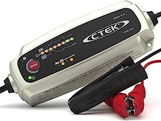 CTEK MXS 5.0, Chargeur De Batterie 12V 5A, Compensation De Température Intégrée, Chargeur De Batterie Voiture Et Moto, Cha...
