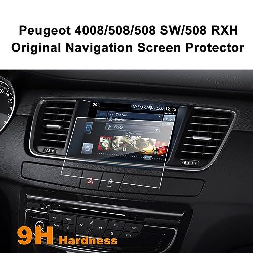 LFOTPP Peugeot 508 SW RXH 7 pulgadas Navegación Protector de pantalla - 9H Cristal Vidrio Templado